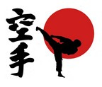 ADHESIVO KARATE JAPON