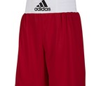 PANTALON BOXEO ADIDAS BASE PUNCH ROJO