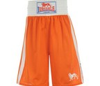 PANTALON BOXEO LONSDALE ORANGE/BLANCO