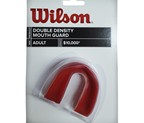 BUCAL SIMPLE WILSON NFL 2 CAPAS ROJO
