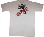 CAMISETA BRAZIL COMBAT BUILDING FIGHTERS BLANCO