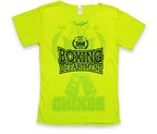 CAMISETA CALIFORNIA DAN BOXING DEPT. AMARILLO FLUO