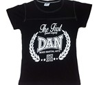 CAMISETA DAN LAUREL URBAN NEGRA