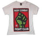 CAMISETA FEMENINA DAN BODY COMBAT FIGHT CLUB TECNIC