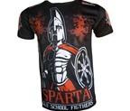 CAMISETA DAN SPARTA OLD SCHOOL FIGHTERS