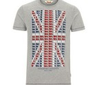 CAMISETA LONSDALE PETERLEE MARL GREY