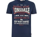 CAMISETA LONSDALE WEMBURY DARK NAVY