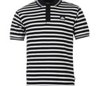 POLO LONSDALE YARN STRIPED NAVY/WHYTE