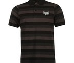 POLO EVERLAST STRIPE NEGRO