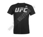 CAMISETA REEBOK UFC NEGRA/BLANCA