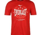 CAMISETA EVERLAST LAUREL ROJA