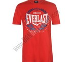 CAMISETA EVERLAST LOGO SHIELD RED