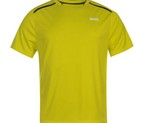 CAMISETA LONSDALE FIT POLY LIME