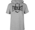 CAMISETA CON CAPUCHA EVERLAST BOXING GREY MARL
