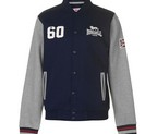 CHAQUETA LONSDALE BOMBER NAVY/GREY