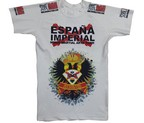 CAMISETA ELASTICA DAN ESPAÑA IMPERIAL BLANCA