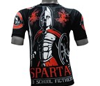 CAMISETA ELASTICA DAN SPARTA OLD SCHOOL FIGHTERS