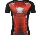 CAMISETA ELASTICA IRON MAN