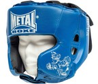 CASCO METAL BOXE MULTIBOXE AZUL JUNIOR