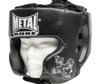 CASCO METAL BOXE MULTIBOXE NEGRO JUNIOR
