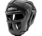 CASCO FUJI PROTECCION FRONTAL FLEXSKIN NEGRO