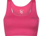 TOP FEMENINO LA GEAR CROP ROSA