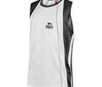 CAMISETA TIRANTES LONSDALE PERFORATED BOXING BLANCO/NEGRO