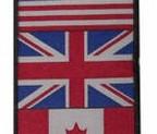 PARCHE V&M FLAGS (PAR) 6x26cm