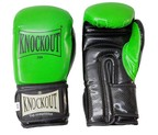 GUANTES KNOCKOUT SPECIAL GYM VERDE/NEGRO