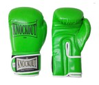 GUANTES KNOCKOUT SPECIAL GYM VERDE/BLANCO