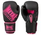 GUANTES METAL BOXE COMPETITION ROSA/NEGRO