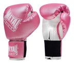GUANTES METAL BOXE INITIATION ROSA