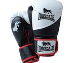 GUANTES LONSDALE PRO LEATHER NEGRO/BLANCO