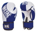 GUANTES METAL BOXE COMPETITION AMATEUR ANGLAISE AZULES
