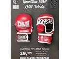 GUANTILLAS MMA DAN COMBAT GRAPPLING HOMOLOGADO FELODA ROJO PG 7