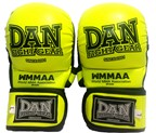 GUANTILLAS MMA DAN WMMAA AMARILLO FLUOR 7 ONZAS
