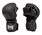 GUANTILLAS MMA METAL BOXE BLACK LIGHT