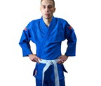 JUDOGI NKL TRAINING LIGHT AZUL 360GR