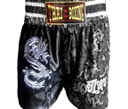 PANTALON MUAY THAI DRAGON PLATA
