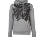 SUDADERA CAPUCHA TAPOUT CORE GRIS