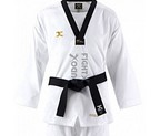 DOBOK TAEKWONDO JCALICU VORTEX FIGHTER II DAN BORDADO